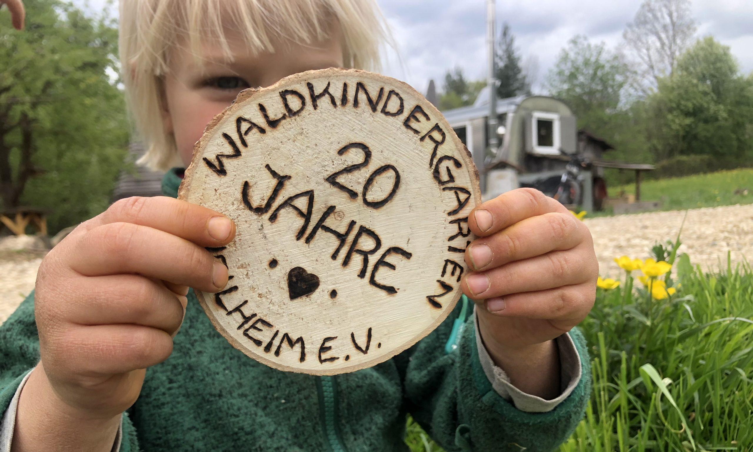 20 Jahre Waldkindergarten Weilheim e.V.